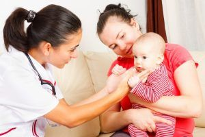 When you should bring your baby to a doctor