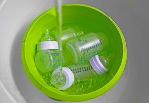 Use a Baby Bottle Sterilizer