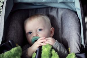 baby can't keep pacifier in mouth