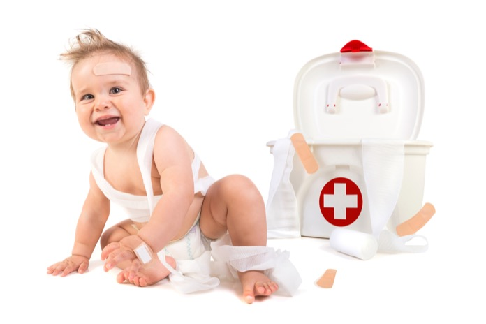 Items You Should Always Keep in Your Baby's First Aid Kit