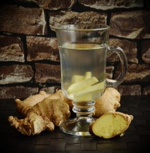 1. Fresh Ginger in the Kitchen