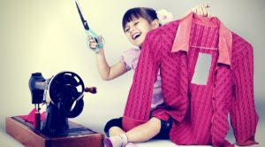 What age should children learn to sew